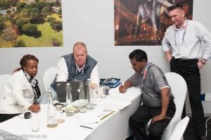 Дмитрий Гаврилов проведит деловую игру на Конференции в ЮАР
